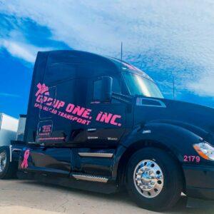 Pink truck web